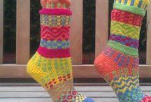 Stickade sockor mm....sukat