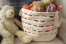 Crochet Bags / Beautiful bags to make - one day!
