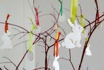 Feiertage - Ostern / Ideen für Ostern zum nähen, basteln und Eier färben;  mit Kindern zusammen