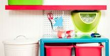 Wohnen - Art supply station for kids / mit Kindern zusammen leben und sich eine kreative Ecke einrichten