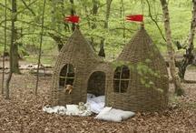Garten - Baumhaus / für die Serie Wohnen mit Kindern auf dem Blog: Baumhaus, Treehouses