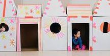 Wohnen - Spielhaus / Ideen für Spielhäuser und Tipies
