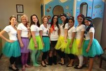 Princess Day at the Dentist / On September 27, 2013, the staff of Northwest Children's Dentistry in Tucson, AZ got their princess on by dressing up for all patients with appointments.  Even Dr. Bunch got in on the action.