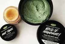 LUSH / Lovely little treats, to make your beautiful body nice, lovely and soft.