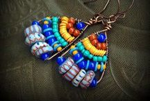 Fun & Creative Designs Made with African Beads / A few really cool designs we like made with Authentic African Beads.