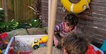 Garten - Sandkasten / Garten, Kinder