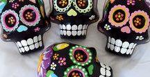 Sugar Skull / Allerheiligen,Allerseeligen, Mexiko