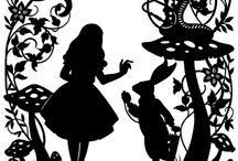 DIY von Büchern inspiriert / Alice im Wunderland
