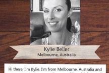 PLJ Designer - Kylie Beller / Brilliant Project Life Inspiration from our 2015 Design Team member Kylie.