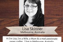 PLJ Designer - Lisa Skinner / Brilliant Project Life Inspiration from our 2015 Design Team member Lisa.
