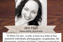 PLJ Designer - Jen Hall / Brilliant Project Life Inspiration from our 2015 Design Team member Jen.