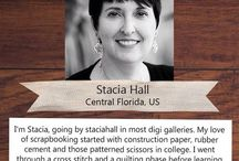 PLJ Designer - Stacia Hall / Brilliant Project Life Inspiration from our 2015 Design Team member Stacia.