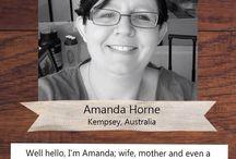 PLJ Designer - Amanda Horne / Brilliant Project Life Inspiration from our 2015 Design Team member Amanda.