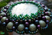 my beads...gyöngyékszereim... / My hobby...az én hobbym