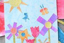Bastelideen - Frühling / Spring, DIY, tutorial, with kids