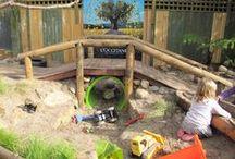 Jardin: aires de jeu