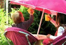 Jardin: décoration enfantine