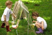 Jardin: activités artistiques manuelles