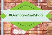 Compare and Share / We're not JUST passionate about comparing auto insurance, but about comparing everything! Welcome to #ShareAndCompare, WE NEED YOU! Every time you see a comparison on our page, be sure to vote for what should win the comparison, and then share it with your friends and see how they vote!