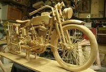 Wood vehicles