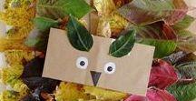 Herbst: Bastel-und Spielideen