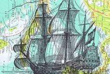 térkép, tenger... / #térkép és #tenger témájú képek