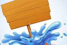 tábla kép / festett, rajzolt #táblák