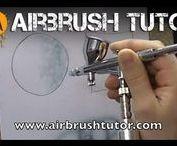 airbrush videók / #airbrush oktató videók