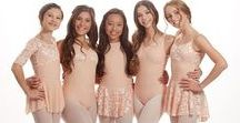 BLISS collection / Spring Collection of leotards and dance skirts from Audition Dancewear.