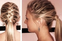 Pretty & Practical / Hair ideas for women who work out. Great for tournaments and competitions, too!