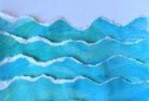 Sea, water /  zee, water