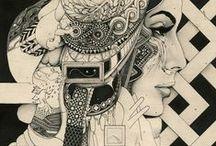 dessin drawing Dibujo / idées pour dessiner ou peindre
