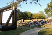 Starlight Movies at the Garden / See classic movies in May and September.  Bring your own picnic! / by San Antonio Botanical Garden
