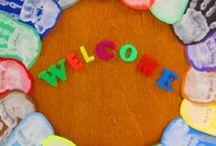 First week of school /  nieuw schooljaar