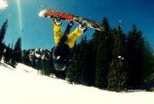 Snowboarden / Foto`s van snowboarden