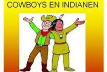 cowboys en indianen thema