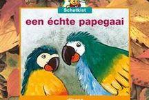 schatkist een echte papegaai