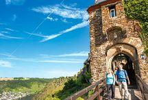 Null Budget Urlaub Mosel  Rhein  Wanderung / Umweltschonend , körperliche Herausforderung