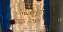 Birthday Party Lighting Ideas / It's party time, and we have your back when it comes to some gorgeous lighting ideas!  Lots of ideas for decorations, including failry lights, LED, garden and outdoor lighting. We're happy to help at Brightech.