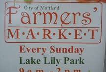 I LUV The Maitland Farmers' Market Around Lake Lily! / by ILuv Winter Park