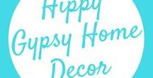 Home Decor Ideas / A Little Hippy, A Little Gypsy - Find hippy and gypsy inspired home designs, including cabins, farmhouses, home decor, wall art, kitchen style, barns and much more!