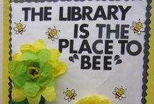 Bulletin Boards and Book Displays / Inspirations for library displays and bulletin boards