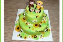 My own children cakes