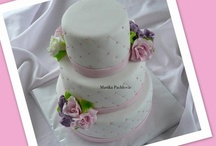 My own wedding cakes