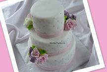 My own wedding cakes