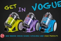 Hoover Vogue Vacuum Cleaners / The Hoover Vogue 5012PH is a powerful, compact bagless vacuum that comes complete with its own deep-cleaning powerhead. Includes washable HEPA filters and a full 2-year warranty! Available in three funky colours. http://www.godfreys.com.au/hoover-vogue-5012ph-bagless-vacuum-teal