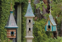 Birdies Home Sweet Home and Feeders / by Nancy Evans