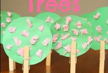 Spring Crafts / Spring Crafts for toddlers, preschoolers, and all the way up to 6th grade
