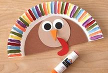 Autumn Crafts / Crafts for fall for toddlers, preschoolers, and school-aged kids up to 6th grade