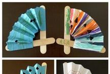 Summer Crafts / Seasonal crafts for toddlers, preschoolers, and all the way up to 6th grade